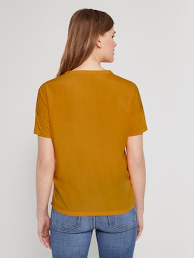 T-shirt with a Henley neckline - 2 - TOM TAILOR Denim