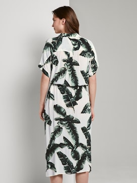 Flowing midi dress with a print - 2 - Tom Tailor E-Shop Kollektion