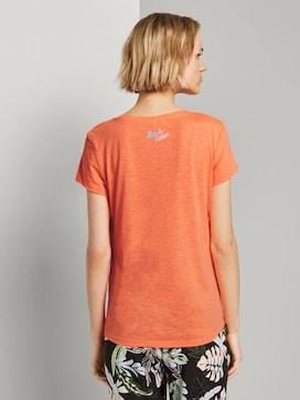 T-shirt with a placed print - 2 - TOM TAILOR Denim