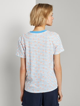Loose T-shirt with a colourful print - 2 - TOM TAILOR Denim