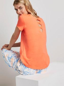 T-Shirt mit Rückendetail - 5 - TOM TAILOR Denim