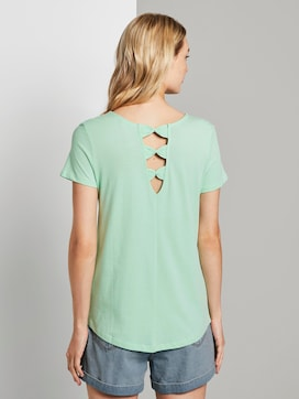 T-Shirt with back details - 2 - TOM TAILOR Denim