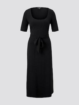Midi-Kleid mit Carree-Ausschnitt - 7 - Tom Tailor E-Shop Kollektion