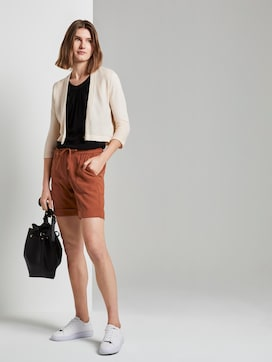 Loose Fit Bermuda Shorts mit elastischem Bund - 3 - TOM TAILOR