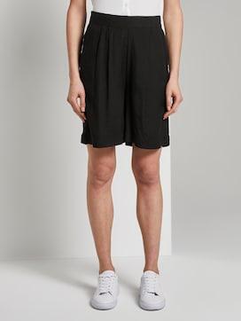 Loose Fit Bermuda Shorts mit elastischem Bund - 1 - TOM TAILOR