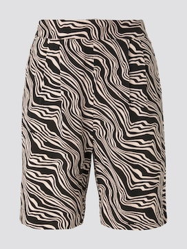 Loose Fit Bermuda Shorts mit elastischem Bund - 7 - TOM TAILOR