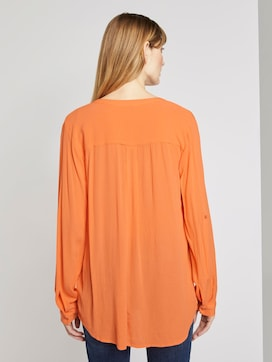 Blouse met ruches - 2 - TOM TAILOR