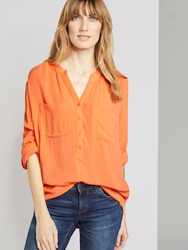 Blouse met ruches - 5 - TOM TAILOR