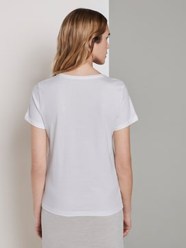 T-shirt with a print - 2 - TOM TAILOR
