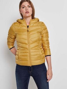Lichtgewicht gewatteerde jas met hoodie - 5 - TOM TAILOR Denim