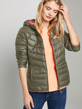 Lightweight quilted jacket with a hood - 5 - TOM TAILOR Denim