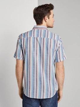 Hemd met korte mouwen en streeppatroon - 2 - TOM TAILOR