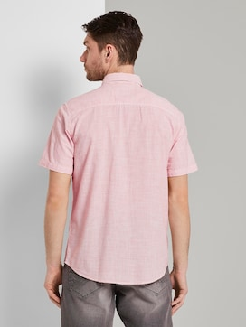 Short-sleeved shirt with a striped pattern - 2 - TOM TAILOR