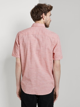 Gemustertes Kurzarm-Hemd mit Struktur - 2 - TOM TAILOR