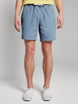 Kurze Jeansshorts im Chino-Look - 1 - TOM TAILOR Denim