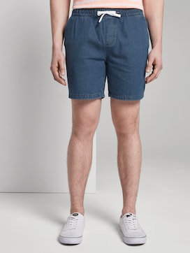 Kurze Jeansshorts im Chino-Look - 1 - TOM TAILOR Denim