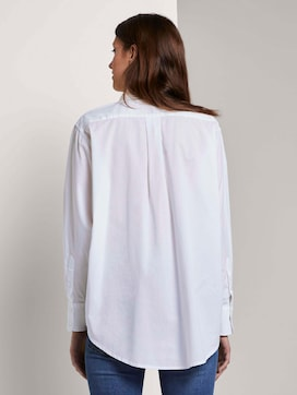 Simple blouse in a loose fit - 2 - TOM TAILOR