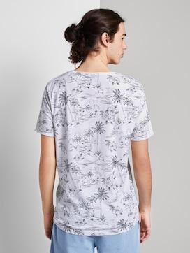 T-Shirt mit Allover-Print und Brusttasche - 2 - TOM TAILOR Denim