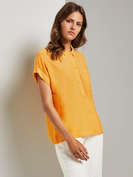 Loose fit overhemd blouse - 5 - Mine to five