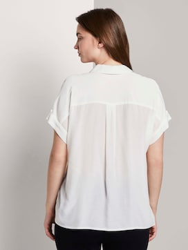 Loose fit overhemd blouse - 2 - Tom Tailor E-Shop Kollektion