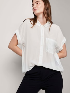 Loose fit overhemd blouse - 5 - Tom Tailor E-Shop Kollektion