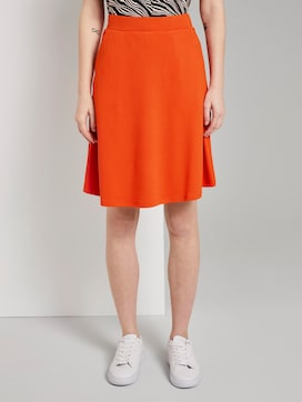 A-line skirt with pockets - 1 - TOM TAILOR