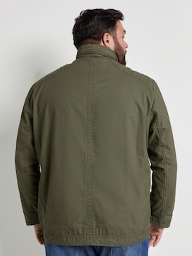 Jacket with chest pockets - 2 - Men Plus