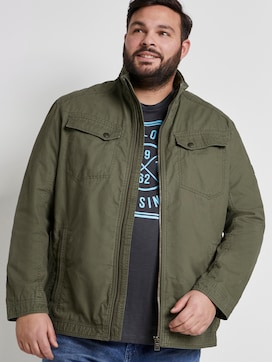 Jacket with chest pockets - 5 - Men Plus
