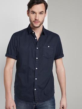 Fine short-sleeved shirt - 5 - TOM TAILOR