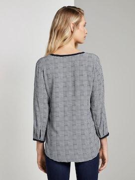 blouse met hanenstijl - 2 - TOM TAILOR