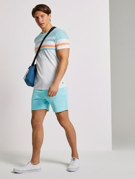 Sweatshorts mit elastischem Bund - 3 - TOM TAILOR Denim