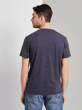 Meliertes T-Shirt mit Print - 2 - TOM TAILOR