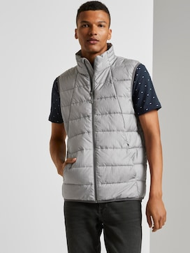 Modern lightweight quilted vest - 5 - TOM TAILOR Denim