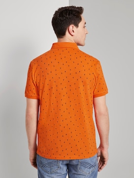 Poloshirt im Allover-Print mit Paspeltasche - 2 - TOM TAILOR