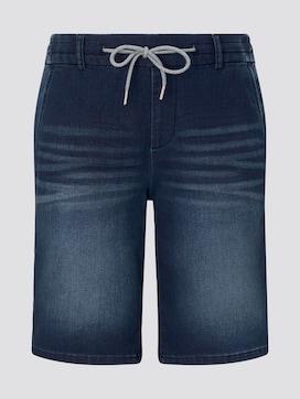 Loose Fit Bermuda Jeans-Shorts mit elastischem Bund - 7 - TOM TAILOR