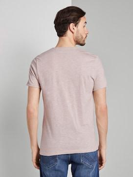 Strukturiertes T-Shirt mit Brusttasche - 2 - TOM TAILOR