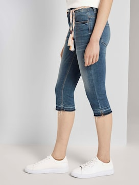 Alexa slim capri jeans with abrasions - 11 - TOM TAILOR