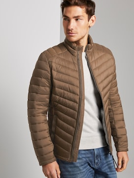 Lightweight quilted jacket with a stand-up collar - 5 - TOM TAILOR