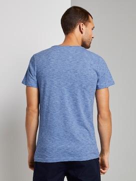 Meliertes T-Shirt - 2 - TOM TAILOR