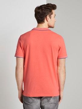 Poloshirt mit Kontraststreifen - 2 - TOM TAILOR