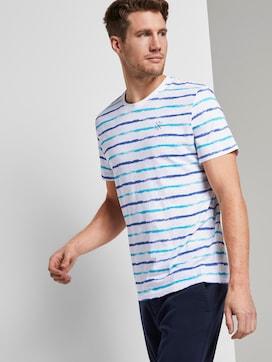 Gestreepte T-Shirt - 5 - TOM TAILOR