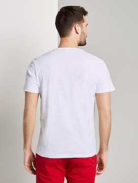 T-shirt with a pocket on the chest - 2 - TOM TAILOR