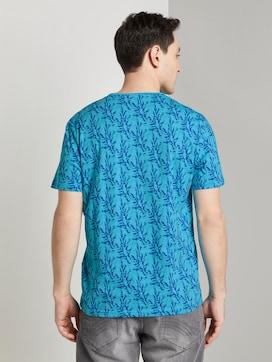 Gemustertes T-Shirt - 2 - TOM TAILOR