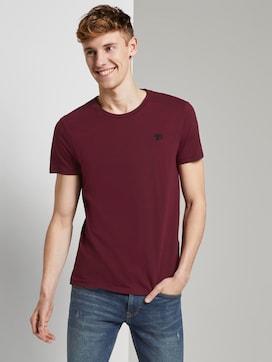 Basic T-Shirt im Dreierpack - 5 - TOM TAILOR Denim