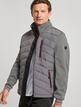 Hybrid jacket with a detachable hood - 5 - TOM TAILOR