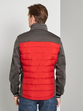 Hybrid jacket with a detachable hood - 2 - TOM TAILOR