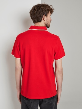 Sporty polo shirt with a European Football Championship print - 2 - TOM TAILOR
