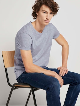 Basic T-Shirt im Doppelpack - 5 - TOM TAILOR Denim