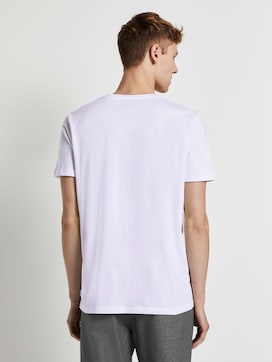 Basic T-Shirt im Doppelpack - 2 - TOM TAILOR Denim