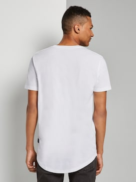 Basic T-Shirt aus Organic Cotton - 2 - TOM TAILOR Denim